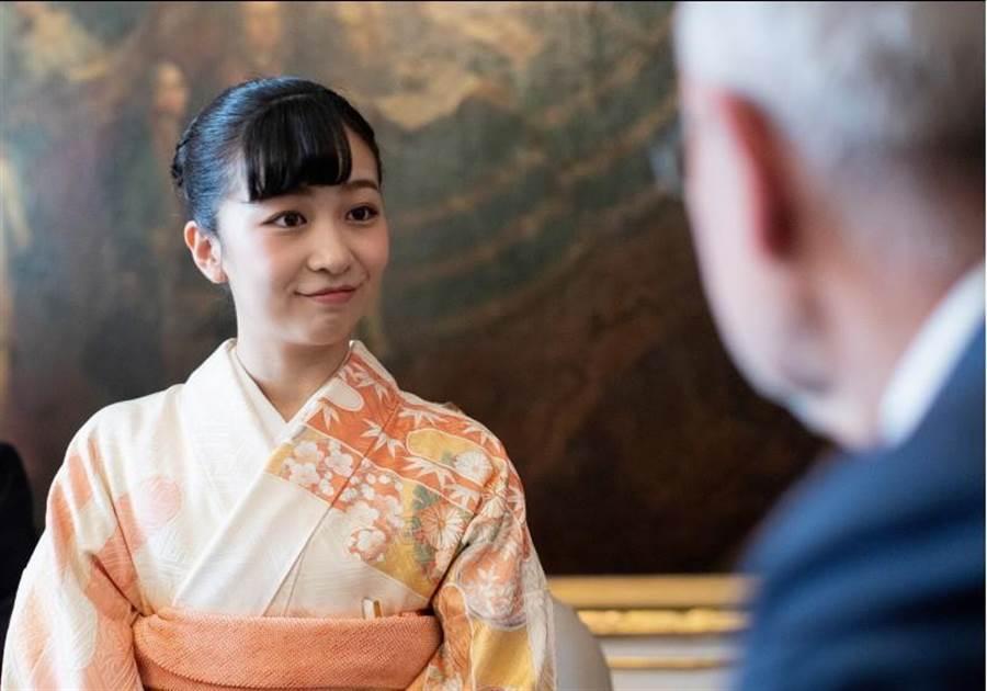 「日本最美公主」、現年24歲的佳子公主,正展開奧地利與匈牙利訪問行程。(路透)