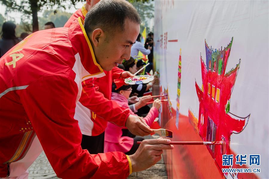 """(社会)(2)多地举行""""祝福香港·点赞祖国""""活动"""