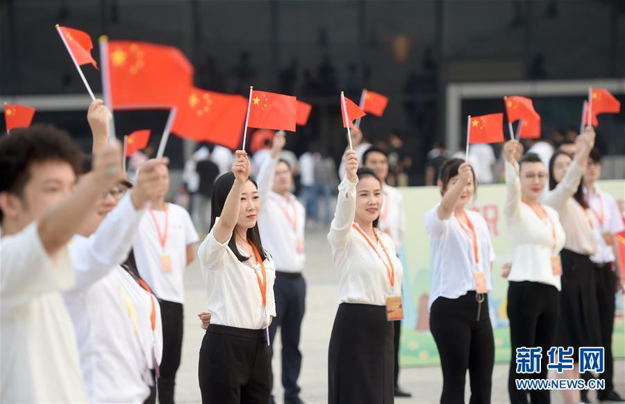 """(社会)(3)多地举行""""祝福香港·点赞祖国""""活动"""