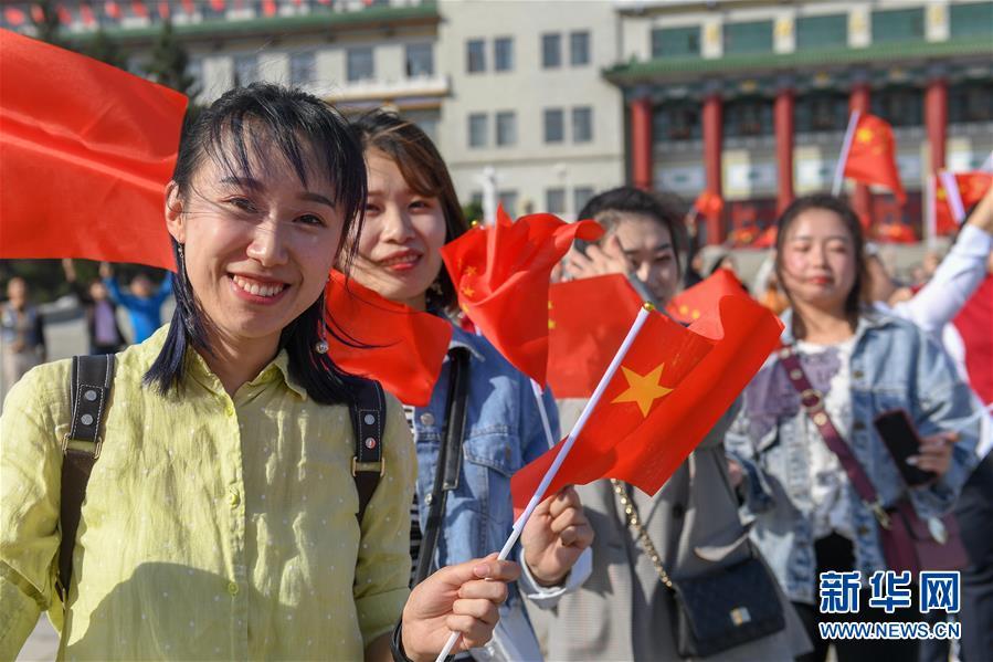 """(社会)(10)多地举行""""祝福香港·点赞祖国""""活动"""