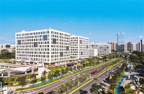 图为中新广州知识城腾飞科技园。 贾自豪摄.jpg