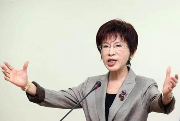 国民党前主席洪秀柱。(图源:《中时电子报》).png