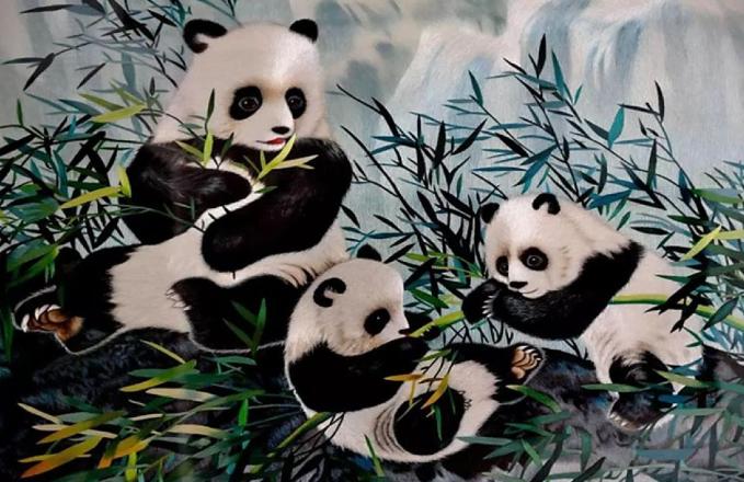 安靖蜀绣文化创意公园亮相2019成都国际非遗节
