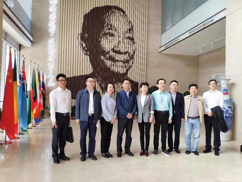 成都市政府副秘书长刘霞一行赴隆平高科考察