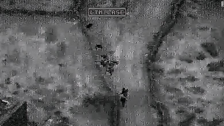 <b>画面曝光!美国防部公布突袭巴格达迪的首批视频和照片</b>