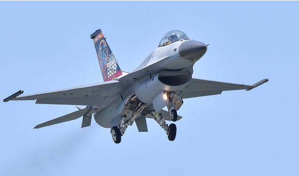F-16战机(图源:东森新闻云).png