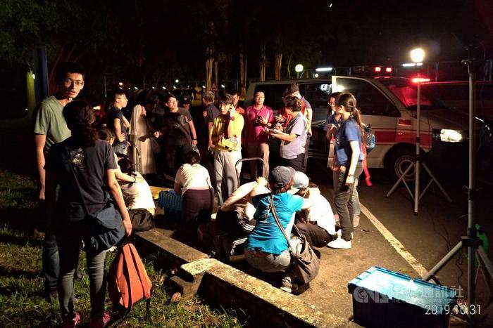 台湾一中学野炊活动疑瓦斯罐爆炸11名学生烧烫伤