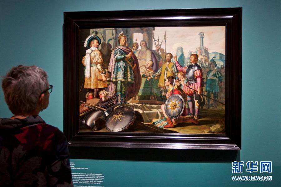 (新華視界)(2)倫勃朗畫展將在荷蘭萊頓舉行
