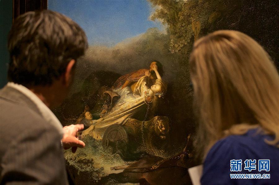 (新華視界)(5)倫勃朗畫展將在荷蘭萊頓舉行