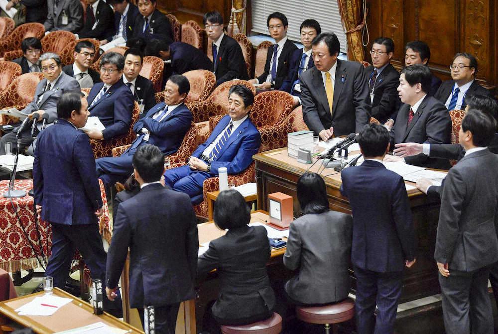 """日本首相安倍国会""""出言不逊""""被要求道歉:我就是嘟囔了几句"""