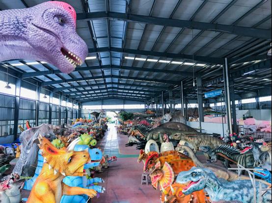 """地下埋化石,线上仿真恐龙远销海外,自贡让恐龙""""活""""了!(1)702.png"""