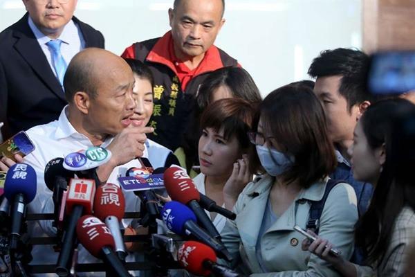 韩国瑜被曝曾经买豪宅成话题 台湾网民看不下去了
