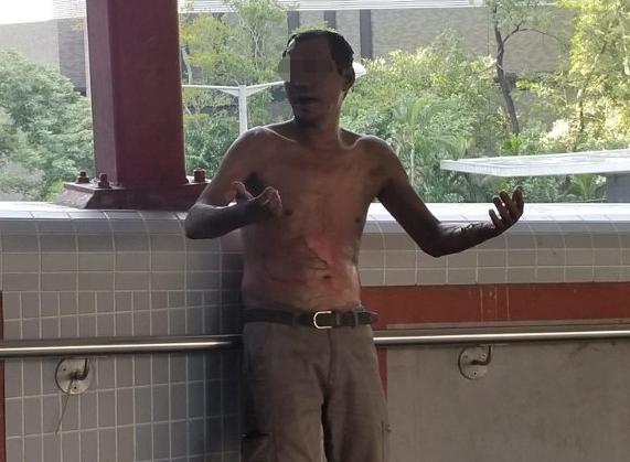 梁振英悬赏30万 缉拿火烧香港市