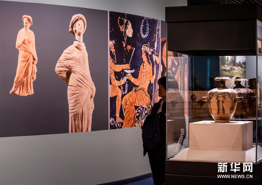 彩绘地中海一座古城的文明与幻想展览26日在四川博物院开幕