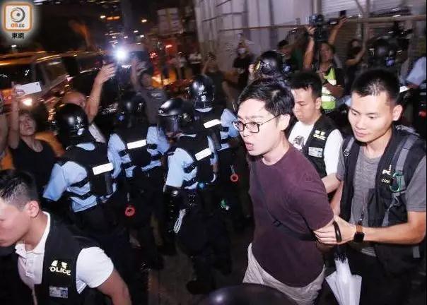 陈浩天此前曾被警方拘捕(图源:东网).jpg