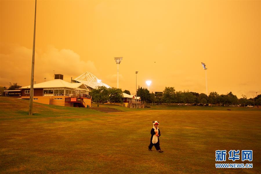 澳大利亚大火烟尘笼罩新西兰北岛北部