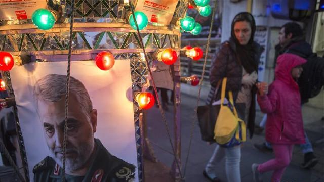 德黑兰悼念苏莱曼尼
