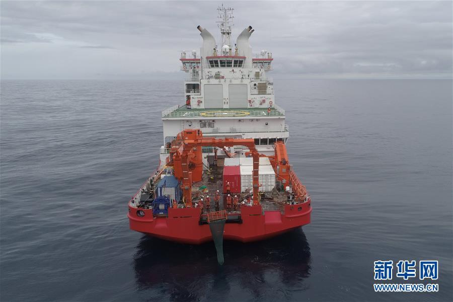中国南极考察队顺利完成宇航员海综合科考