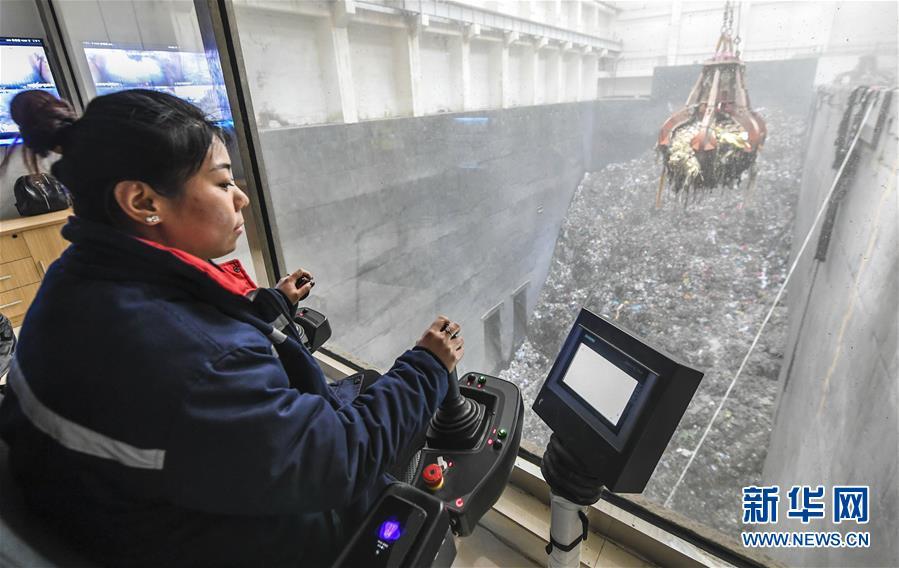 河北霸州:垃圾焚烧发电 助力生态环境改善