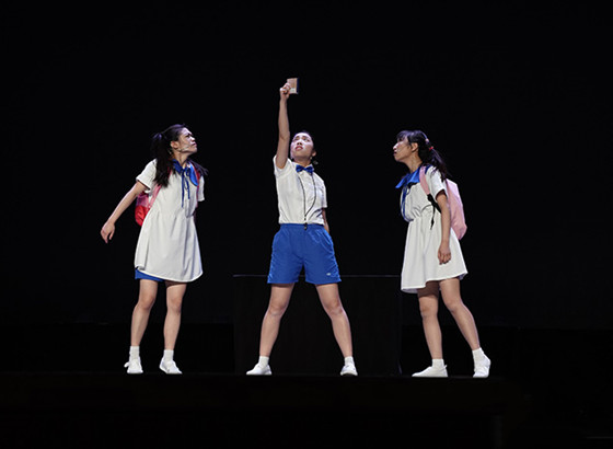 澳门青年北京上演话剧《苦尽甘来》 祝澳门与祖国未来更好