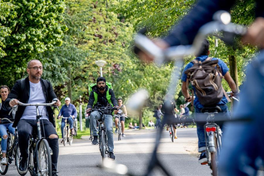 荷兰城市的绿色生活