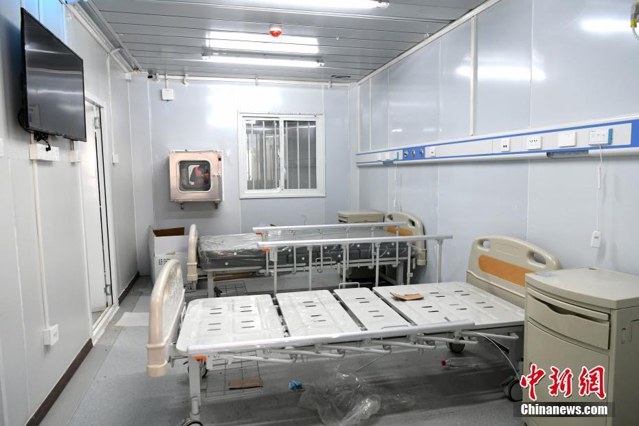 一组图带你速览雷神山医院内部场景