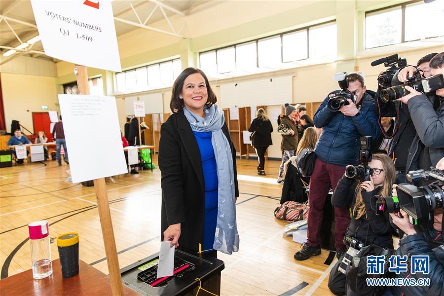 爱尔兰举行大选 执政党面临挑战