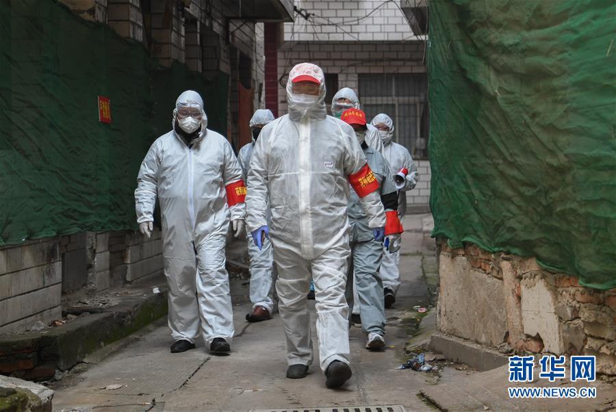 """武汉:抗""""疫""""战中的社区生活"""