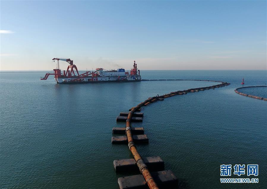 海上重点交通项目复工