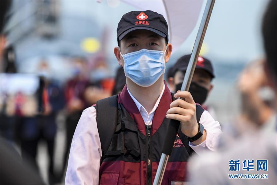 中国向柬埔寨派遣抗疫医疗专家组
