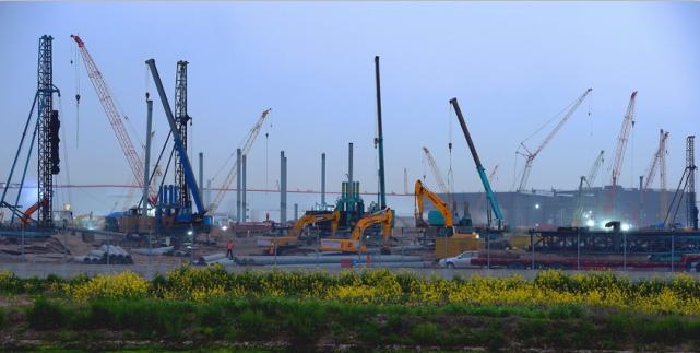 上海:重点工程 有序推进
