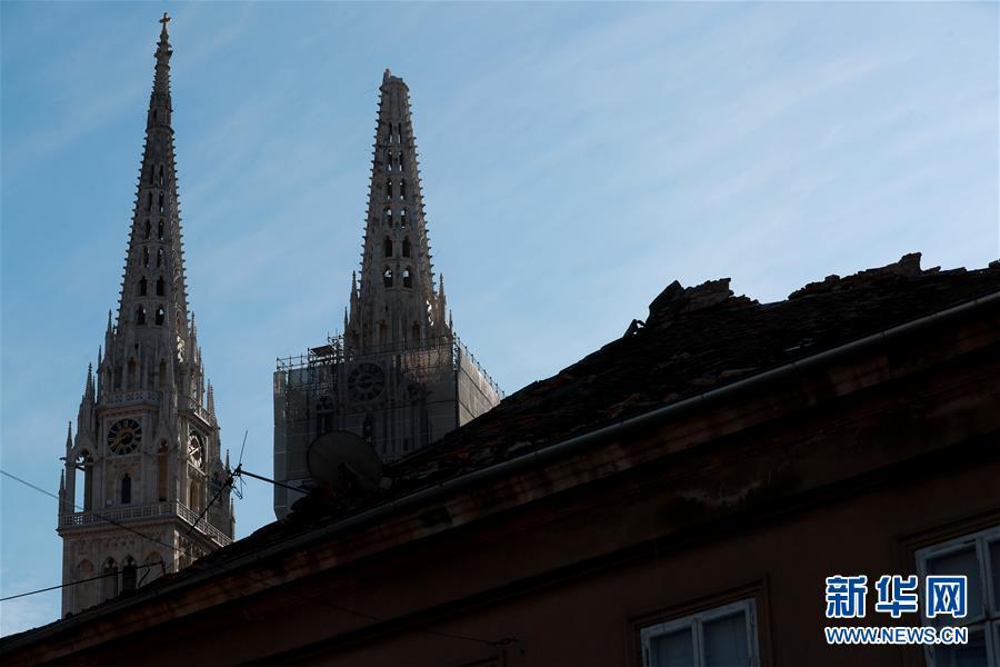 克罗地亚萨格勒布:地震之后