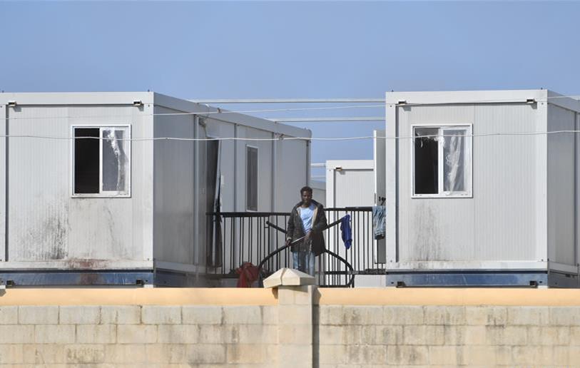 马耳他难民营封闭