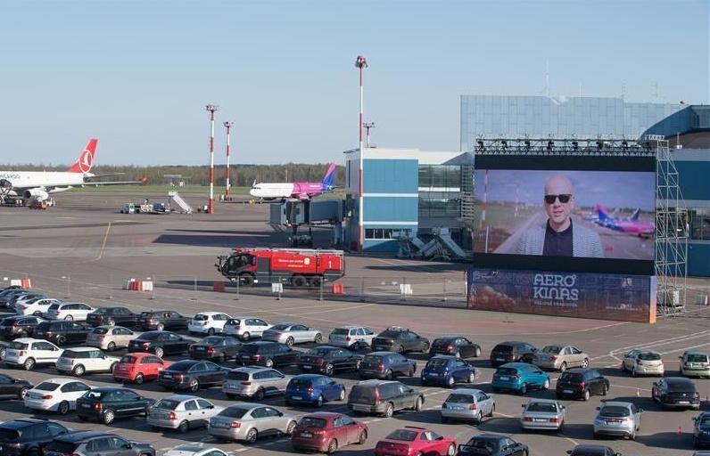 立陶宛机场变汽车影院