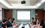 财联社创始人徐安安一行到访融象咨询 共商合作