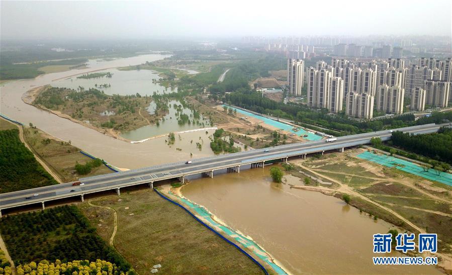 永定河河北省廊坊段干涸25年后首次通水