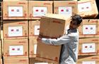 中使馆向叙利亚捐防疫物
