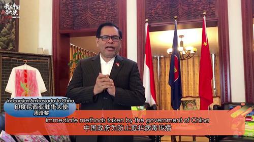 【我在中国当大使】中国抗疫为世界树立典范
