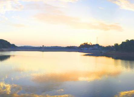 四川第三大水库——鲁班湖风采掠影