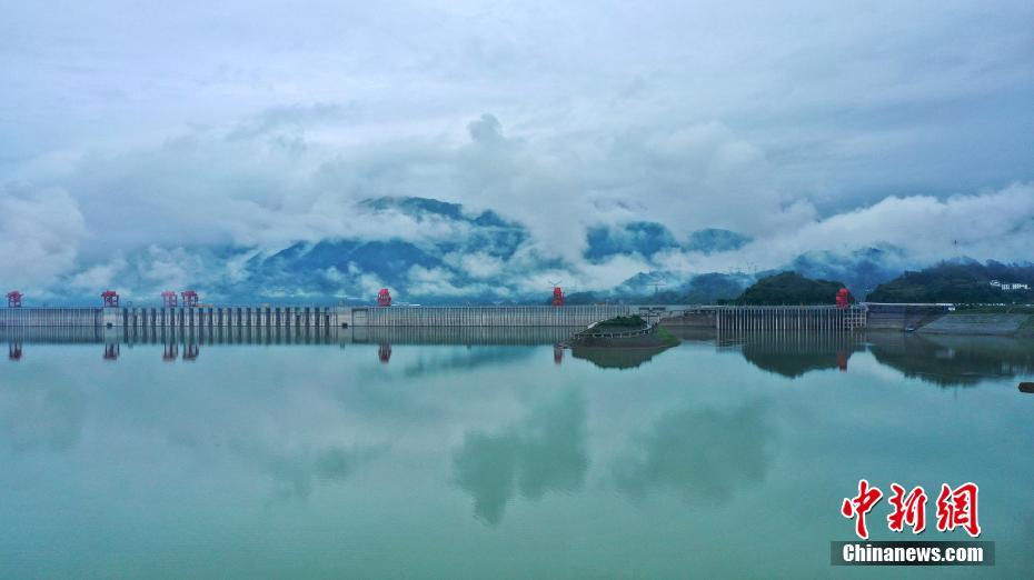 三峡水库拦蓄上游洪水