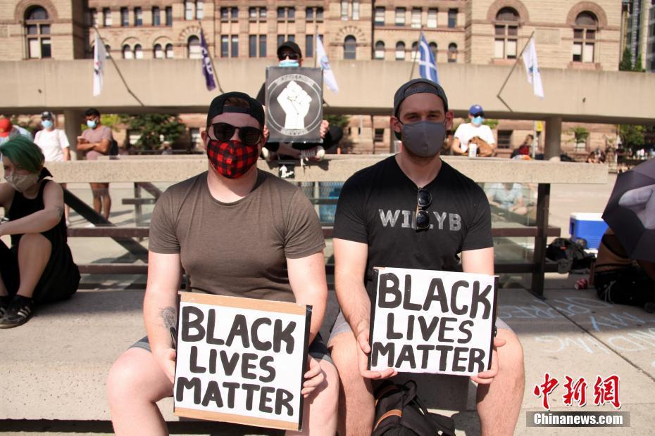 加拿大多伦多示威者再度集会反对系统性歧视