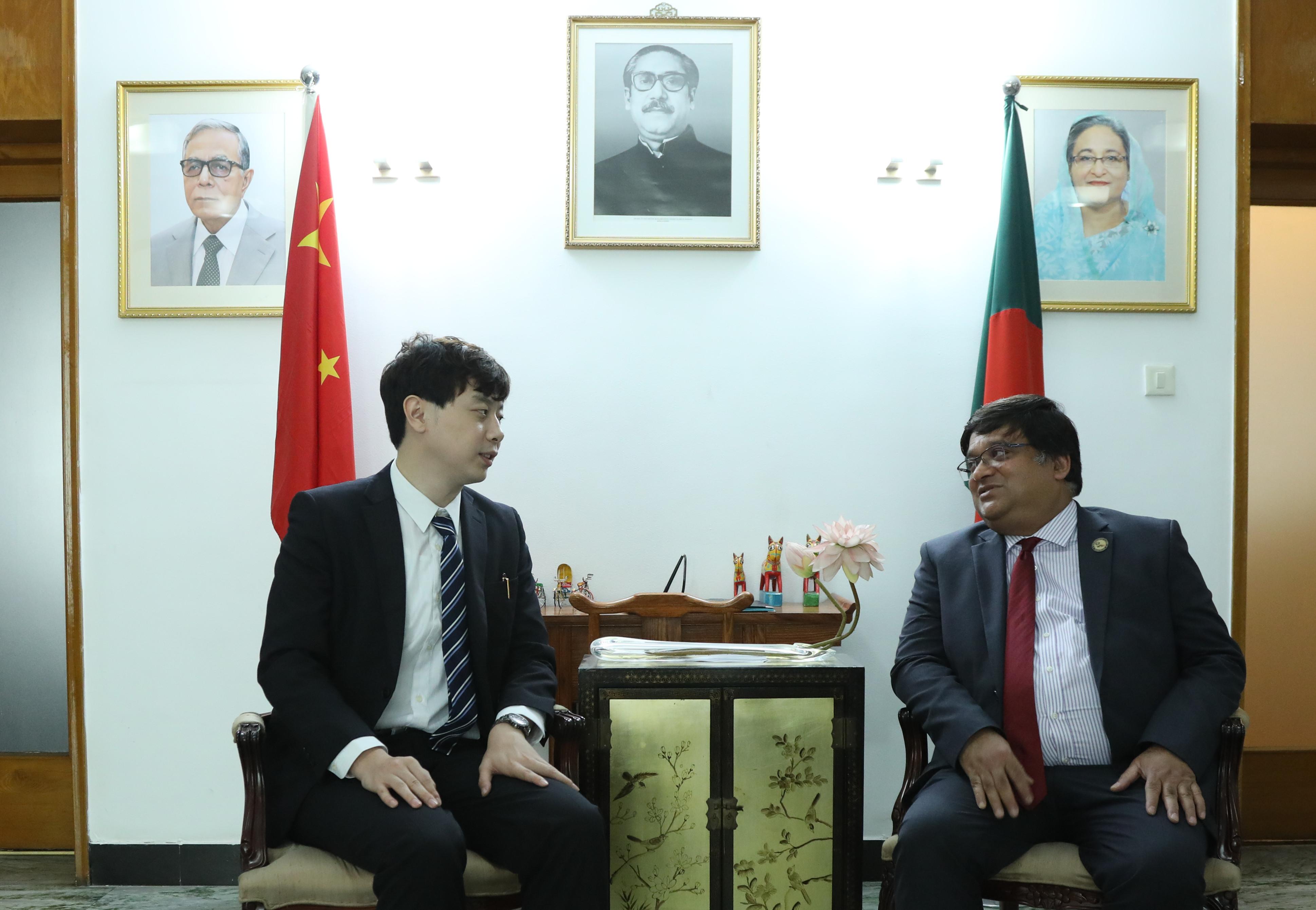 孟加拉驻华大使:马赫布·乌兹·扎曼