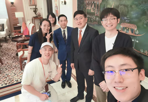 泰国驻华大使:中泰人文交流密切