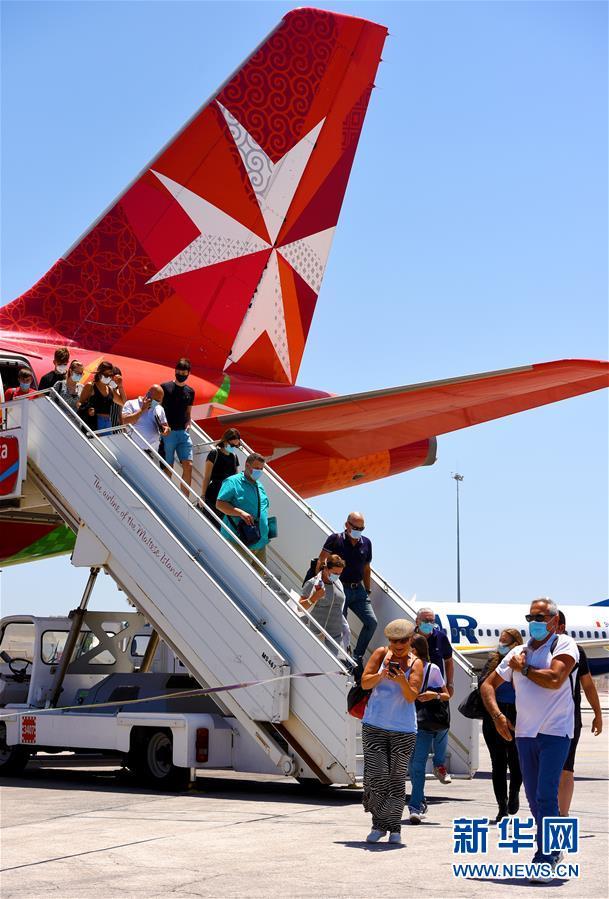 马耳他国际机场重新开放