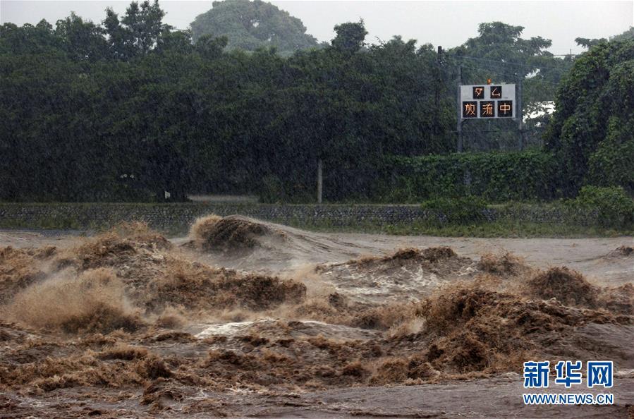 日本九州地区暴雨已致55人死亡