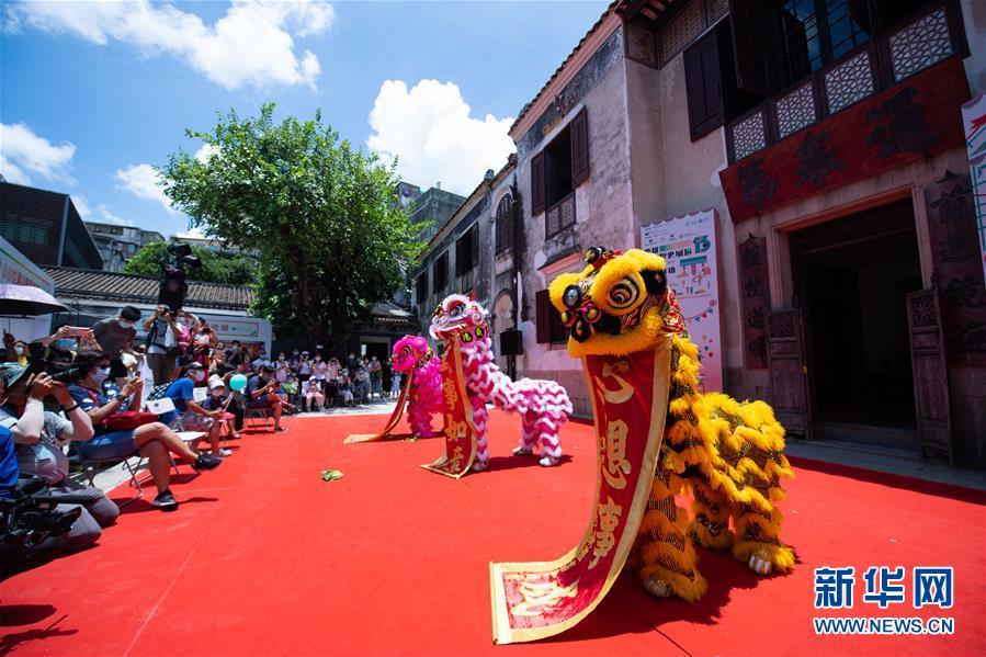 澳门举办嘉年华庆祝历史城区申遗成功15周年