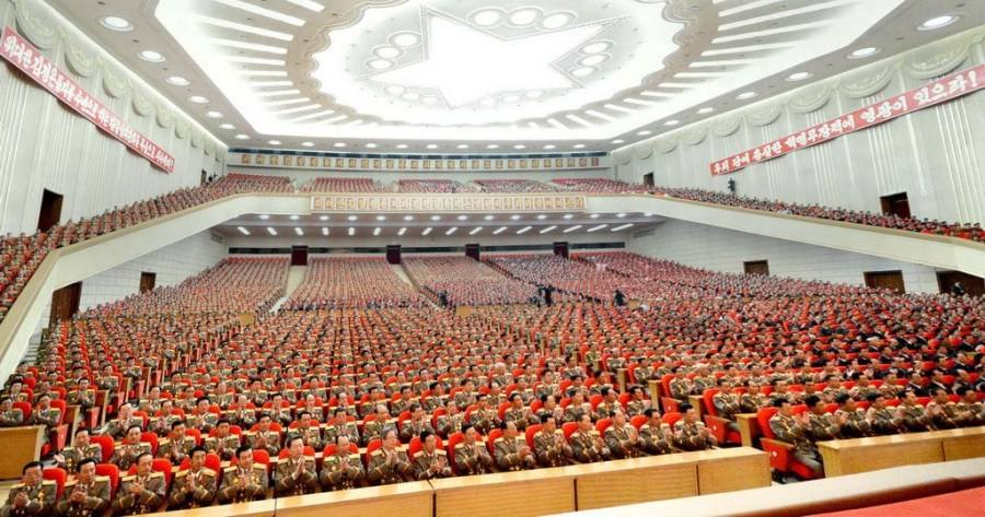 朝鲜举行纪念国际劳动节中央报告大会