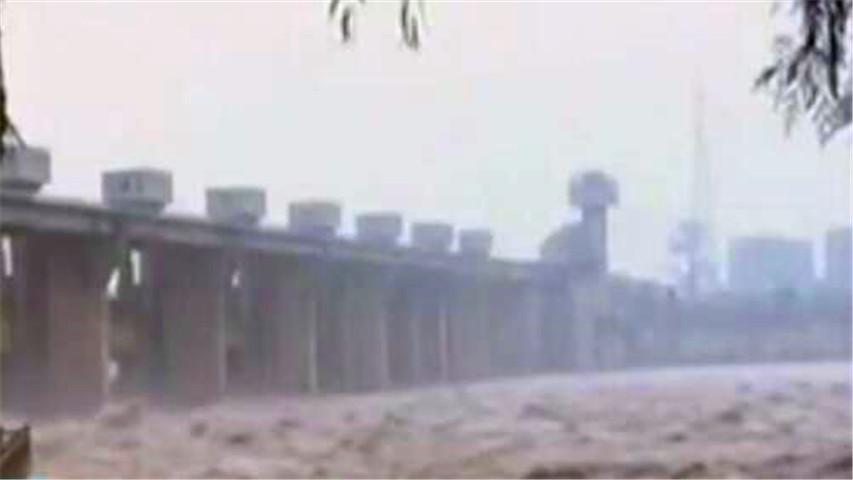 朝鲜部分地区发生洪涝灾害