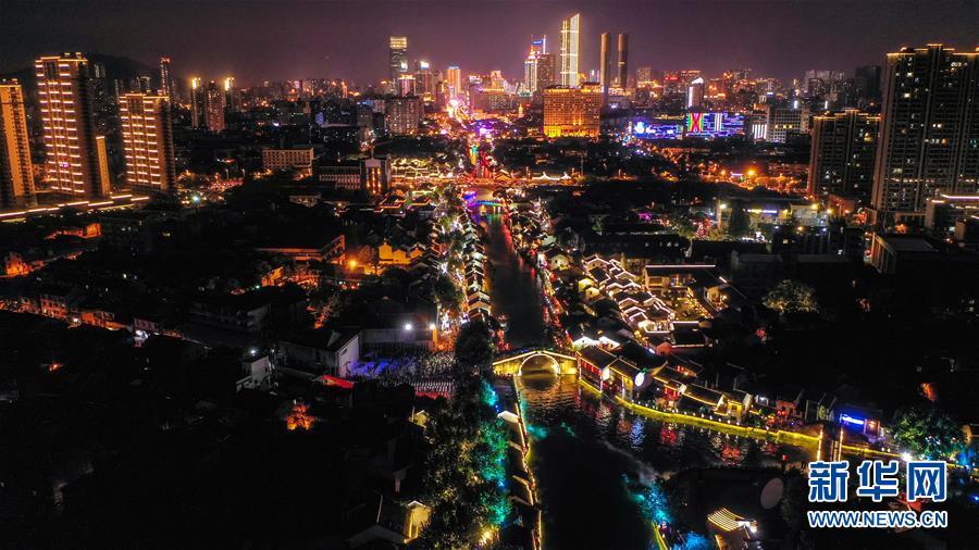 江苏无锡:点亮运河夜经济