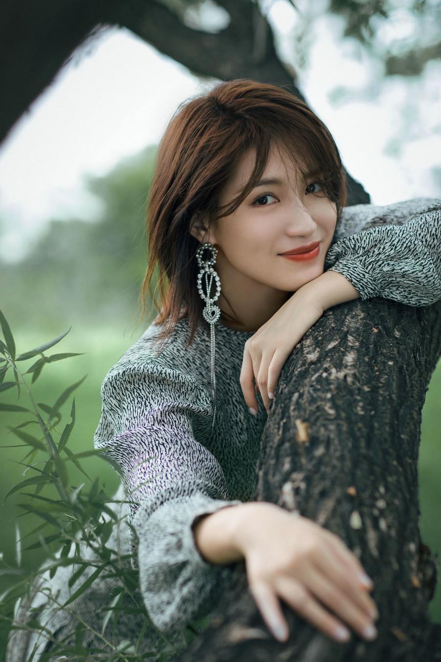 苏青森女系写真 夏日清新气质满满